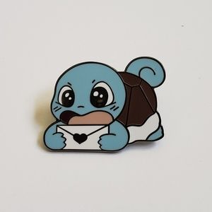 Jewelry - Pokemon Squirtle with Love Envelope Pin